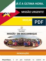 APRESENTAÇÃO MISSÃO -SINIMBU