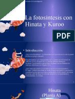 La fotosíntesis con Hinata y Kuroo