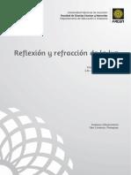 Reflexión y refracción de la luz optica