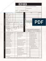 Delta Green. Character Sheet. Fillable Forms - Лист Персонажа. Заполняемые Формы