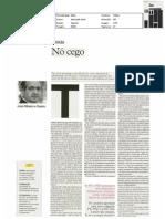 """Nó Cego - artigo jornal """"i"""" 1-abr-2011"""
