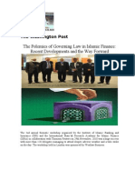 The Polemics of Governing Law in Islamic Finance Recent Developments and the Way Forward