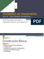 Aula 04 - FENÔMENOS DE TRANSPORTES
