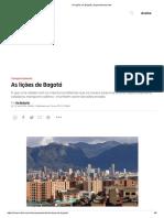 As lições de Bogotá _ Superinteressante