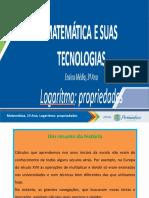 -Template- SLIDES -Logaritmo - propriedades- COMPLETO-