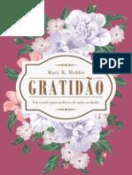 Mary K. Mohler - Gratidão - um estudo para mulheres de todas as idades