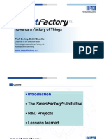 SmartFactory - Towards a Factory of Things