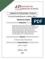 Informe 12 GRUPO 12 SEPSIS DR.marcIAL Fisiopatología Seminario