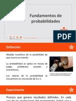 2. Fundamentos de probabilidad