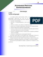 ATPS - Técnicas de Negociação
