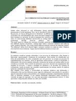 AVALIAÇÃO DA CORROSÃO EM MATERIAIS USADOS EM SISTEMAS DE  RESFRIAMENTO