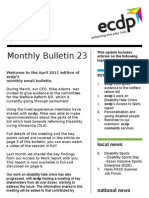 ecdp Monthly Bulletin 23