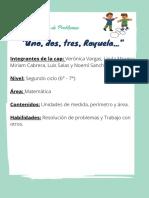 Cap Resolución de Problemas -Uno, Dos, Tres, Rayuela...