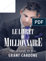 The Millionaire Booklet French 1