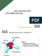 Sistema de Calidad SGS-Documentacion