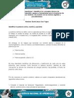 Evidencia Cuadro Comparativo Identificar La Potencia Activa, Reactiva yAparente. David Cosi