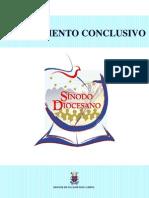 doc. conclusivo sinodo diocesano 2010