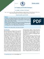 dopaje genico y daños a a salud tabla genes
