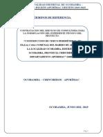 TDR - Cerco Perimetrico de la Casa Comunal de Alianza