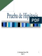 ITAM PRUEBAS DE HIPOTESIS