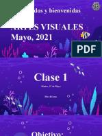 Clase 1 Artes Visuales, 25 de mayo