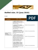 BiblioNews núm. 33 (juny 2010)
