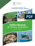 02 Politica Nacional de Pesca y Acuicultura 2015 ULTIMA VERSION