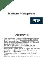 Insurance Management cyc