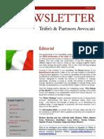 Newsletter T&P N°45 Eng