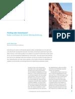 Privileg oder Gemeinnutz? Eine Kosten-/Nutzen-Analyse der Zürcher Wohnbauförderung