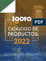 Catalogo 2022 igoto