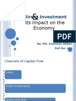 FDI and their Impact on the Economy