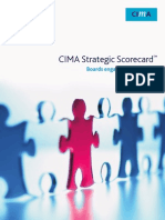 CIMA Strategic scorecard -  boards engaging in strategy