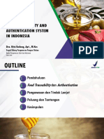 3. Food Traceability and Authentication System in Indonesia (BPOM)