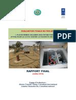 Rapport final Evaluation du Projet PTFM
