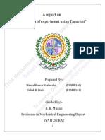 Final report on taguchi3443434434