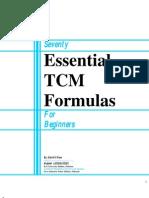 Seventy Essential TCM Formulas