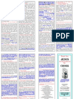 Tracts e 012 Thank You Jesus for the Sacrifice of the Cross