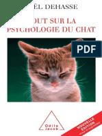 Psychologie Du Chat - Joel Dehasse
