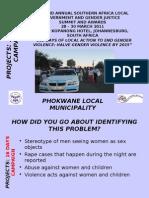 16 DAYS CAMPAIGNS_Phokwane Local Municipality_26032011