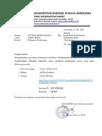 Undangan Pembekalan Asesor BAN-SM Prov.kalbar (1)