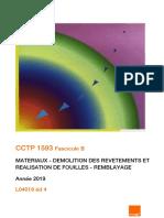 CCTP 1593 Fascicule B