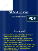 Sensor VAF DATOS TECNICOS