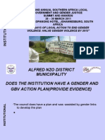 INSTITUTIONAl_Alfred Nzo District Municipality_26032011