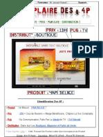 Les 4P  Marketing - Exemple Vivant ( By Designer !nvisible )