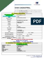 FICHA CADASTRAL PESSOA JURIDICA.