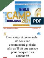 camp biblique des etudiants 2021