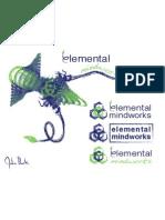 Logo Design - Personal Brand (Elemental Mindworks)