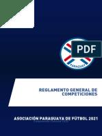 Reglamento General de Competiciones APF 2021