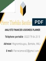Carte de Visite Pierre Camar
